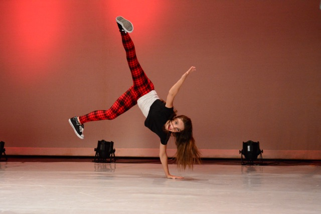 Our tumbling class focuses on the skills needed to perform dance tricks.