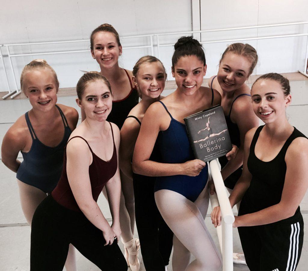 ballerina's health and mind work together