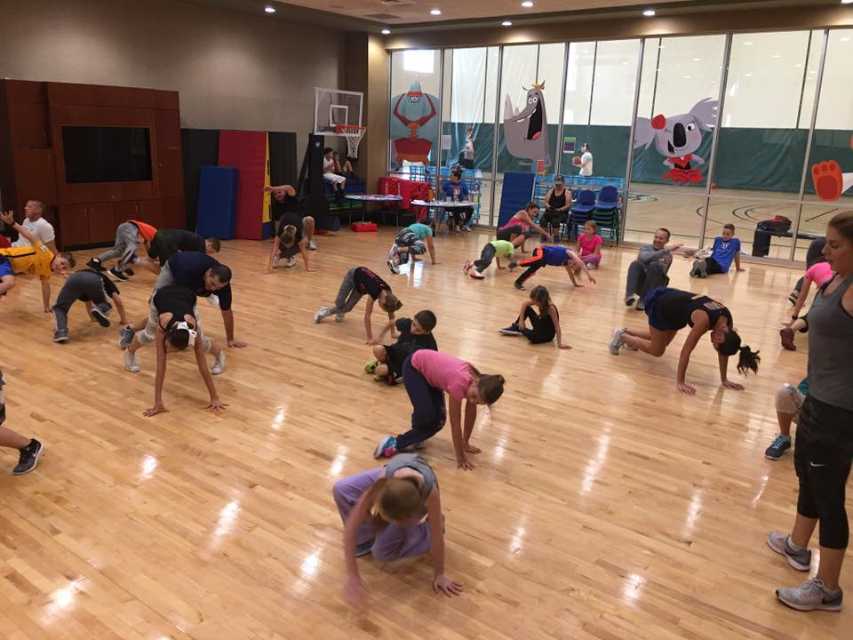 acrobatic class will get the heart pumping as students dance
